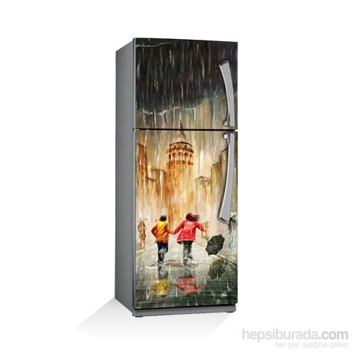 Artikel Yağmurda Buzdolabı Stickerı Bs-055