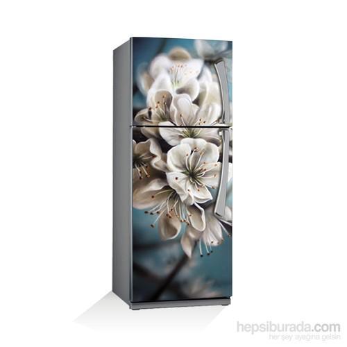 Artikel Beyaz Çiçek Buzdolabı Stickerı Bs-072