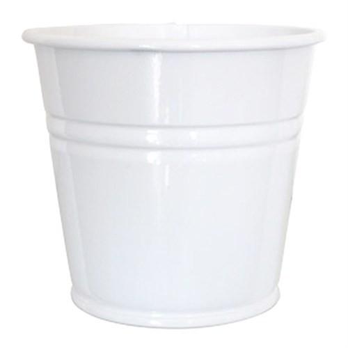 Pandoli Beyaz Renk Galvaniz Kurabiye Kasesi 11 Cm Küçük 1 Adet