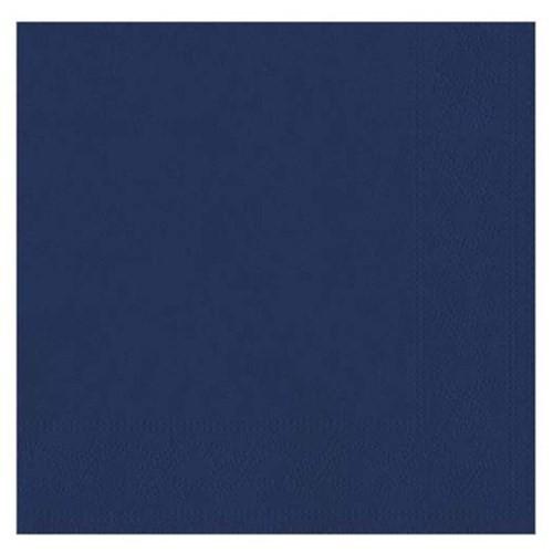 Pandoli Lacivert Renk 50 Adet Kağıt Parti Peçetesi 33 Cm