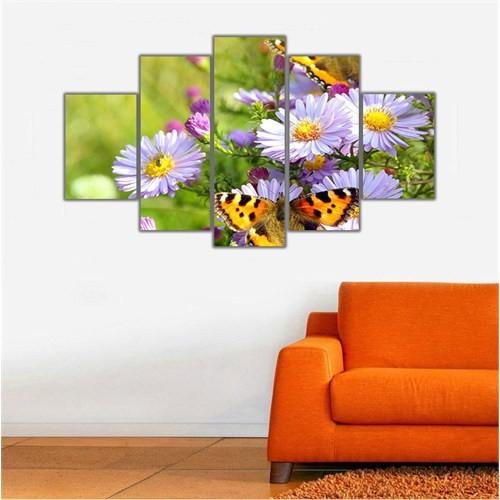 Ritmo Canvas Çiçekler Canvas Tablo