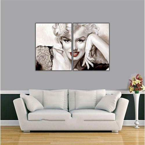 Ritmo-Marilyn Monroe Kanvas Tablo