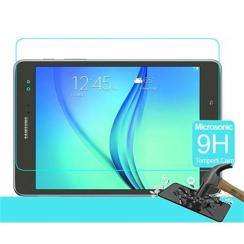 Microsonic Samsung Galaxy Tab A 8.0'' T350 Temperli Cam Ekran Koruyucu Kırılmaz Film