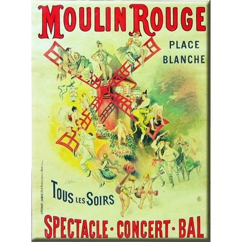 Karton Afiş - Moulın Rouge Spectacle 24X32 Cm