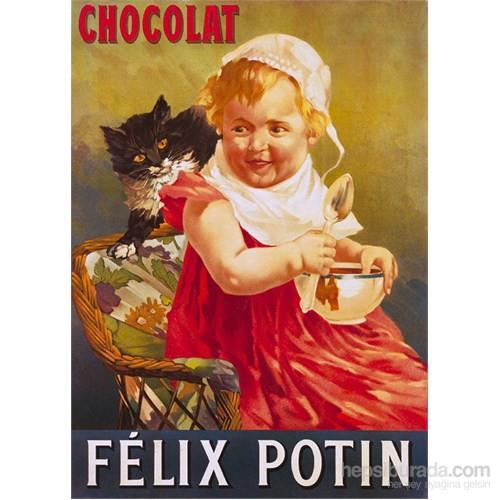 Metal Poster - Felıx Potın Chocolat 15X20cm.