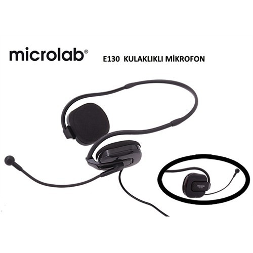 Microlab E130 Mikrofonlu Kulaklık