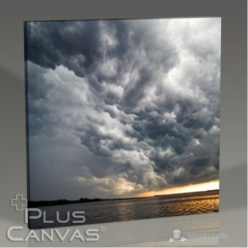 Pluscanvas - Cloudy Sky Tablo