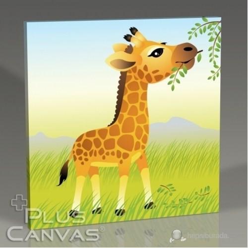 Pluscanvas - Giraffe Tablo