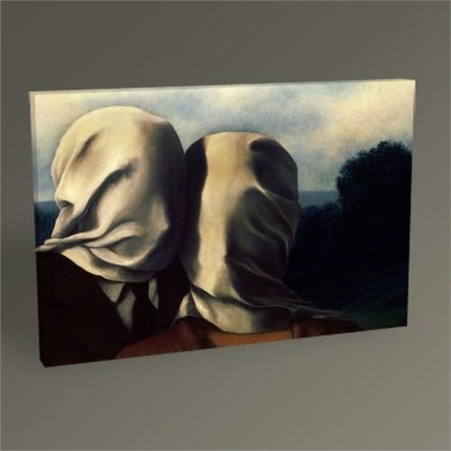 Tablo 360 Rene Magritte The Lovers Tablo 45X30