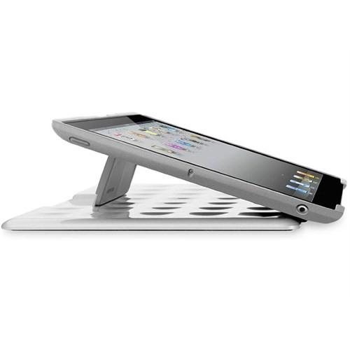 Belkin Blk-F8n606cwc01 İpad-2 Max Stand Autowake Se Parlak Beyaz Tablet Pc Kılıfı