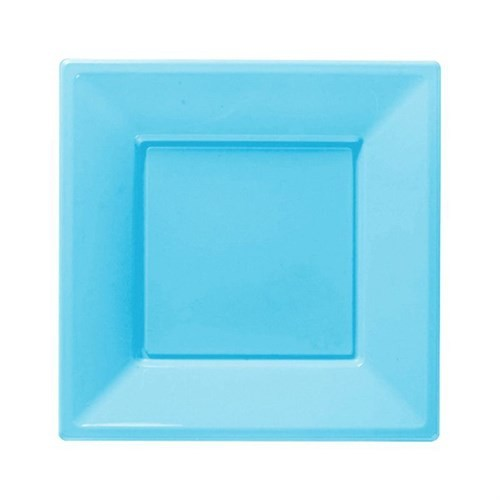 Pandoli Bebek Mavisi Renk Küçük Boy 17 Cm Plastik Parti Tabağı 8 Adet