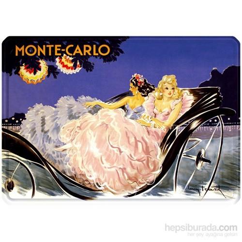 Metal Poster - Monte Carlo Calèche - Icart 30X40cm