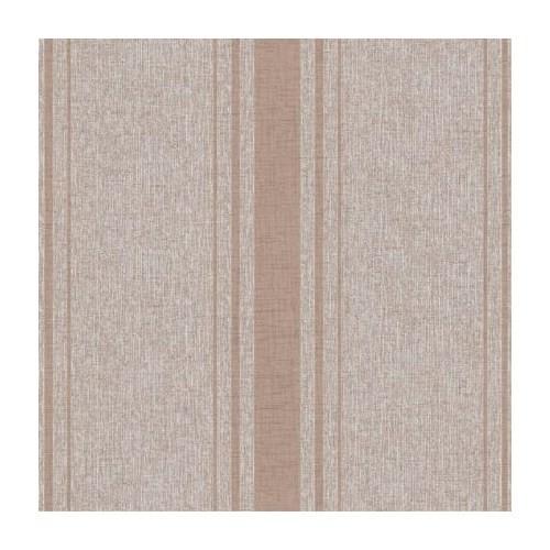 Bien Forever 14833 Kahverengi Krem Şeritli Duvar Kağıdı