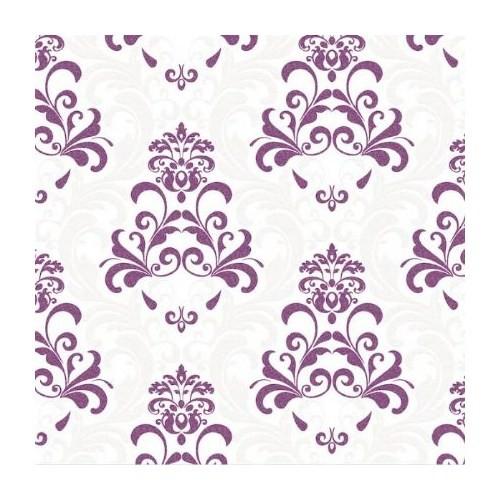 Bien Forever 14907 Kabartmalı Damask Desen Duvar Kağıdı