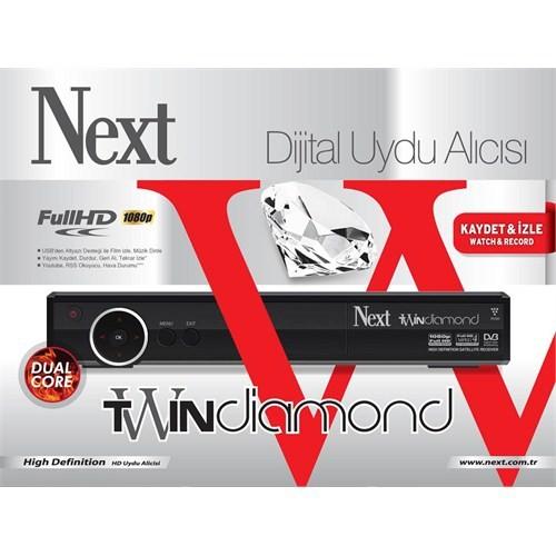 Next Twin Diamond Hd Uydu Alıcısı