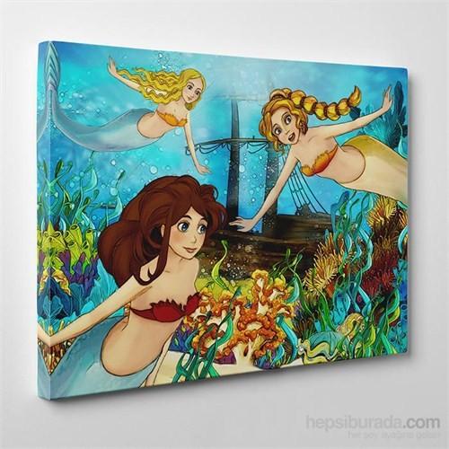 Tabloshop Deniz Kızları Kanvas Tablo