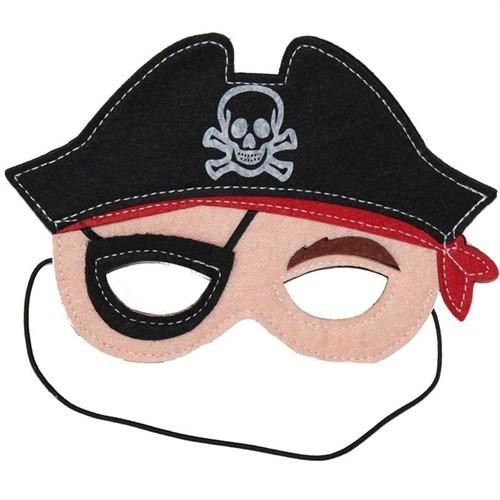 Pandoli Keçe Korsan Maskesi