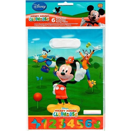 Pandoli Mickey Hediye Çantası 6 Adet