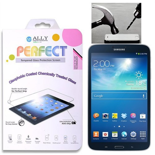 Ally Galaxy Tab3 8.0,T310,T311 Kırılmaz Cam Ekran Koruyucu
