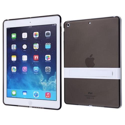 Ally Apple İpad Air Standlı Şeffaf Silikon Kılıf