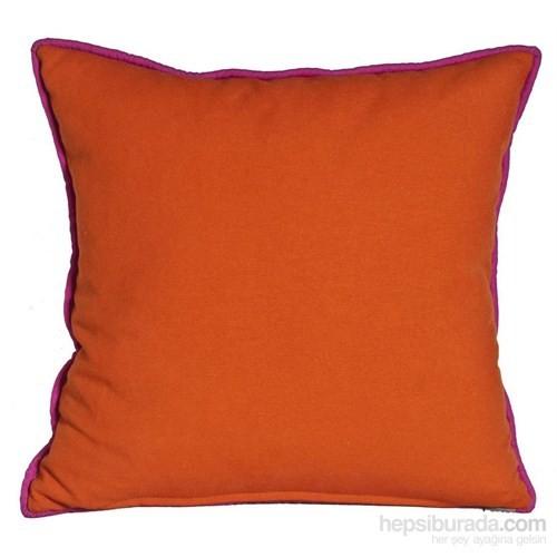Yastıkminder Koton Oranj Dekoratif Yastık