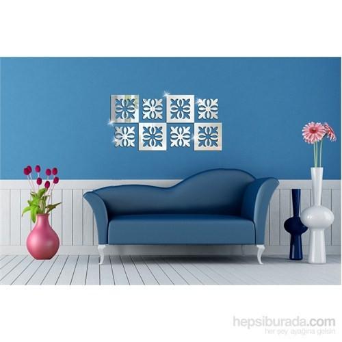 Desenli Kareler Dekoratif Ayna