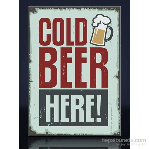 Cold Beer Kanvas Tablo