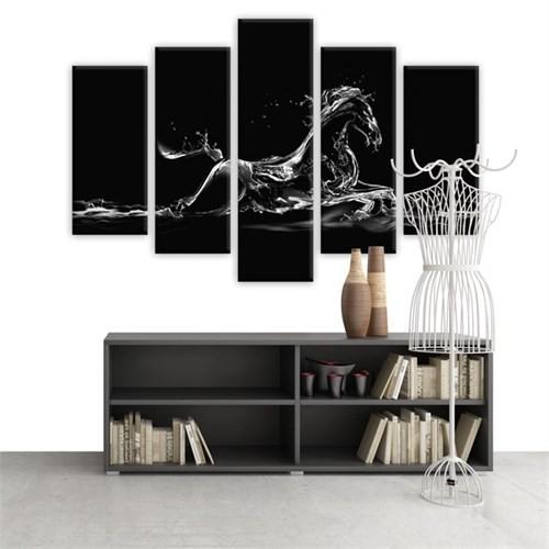 Dekoratif 5 Parçalı Kanvas Tablo-5K-Hb061015-86