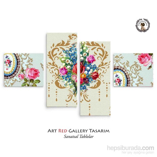 Artred Gallery Duvar Kağıtları 114X63 Tablo