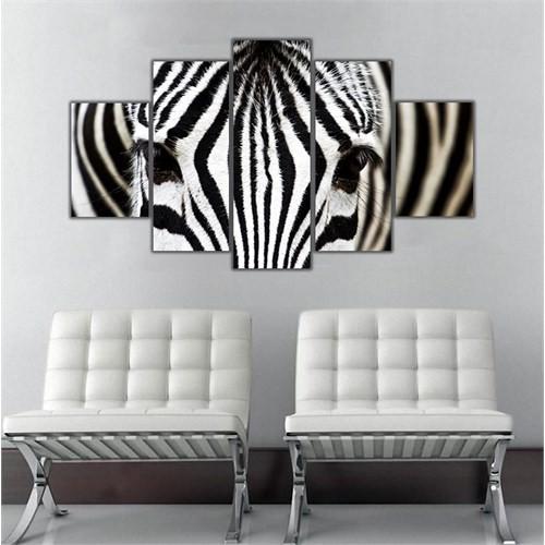 Ritmo Canvas Perspektif Zebra Canvas Tablo