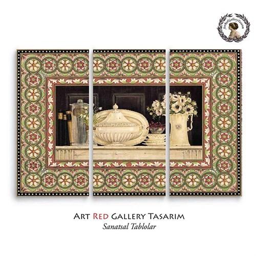 Artred Gallery Dekubaj Serisi Üç Parça 75X115 Tablo-2