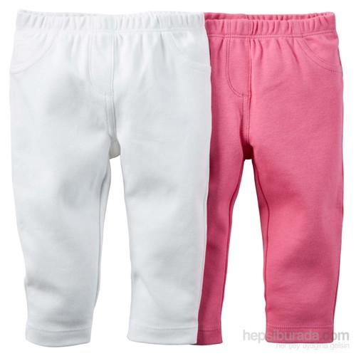 Carter's Layette Kız Bebek 2'Li Pantolon 126G121