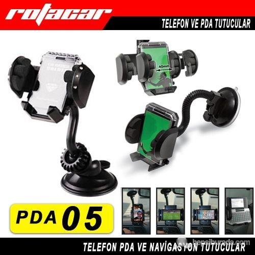 Rotacar 360 Dönebilen Otomatik Telefon Ve Pda Tutucu Pda05