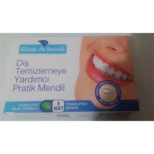 Rituel De Beaute Diş Temizlemeye Yardımcı Pratik Mendil 8 Adet