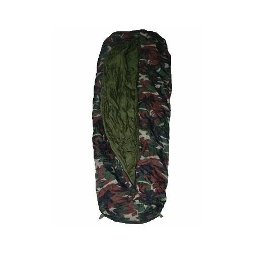 Evolite Askeri Kamuflaj -12ºC Ortadan Fermuarlı Uyku Tulumu