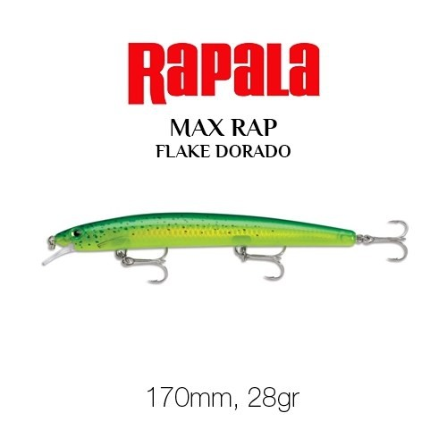 Rapala Max Rap 170Mm Fd