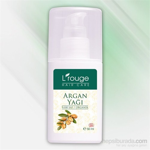 L'rouge Organik Argan Yağı