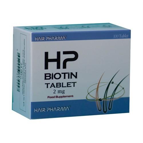 Hp Biotin 2 Mg - 100 Tablet