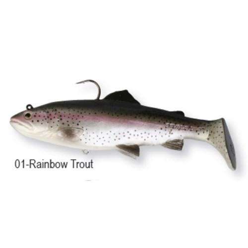 Savagear 3D Trout Rattle Shad 12.5Cm 35Gr Rainbow Trout