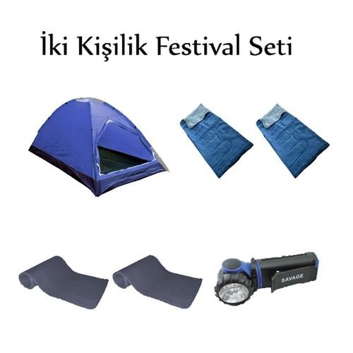 Savage Çadır 2 Kişilik Festival Seti