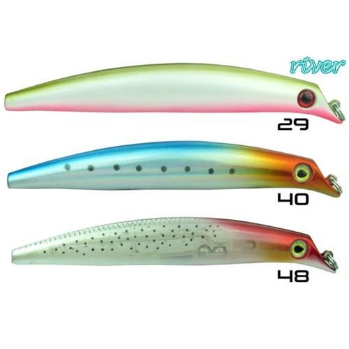 Prusa Fishing Rıver Bass Professor 120F Maket Balık Renk No-048