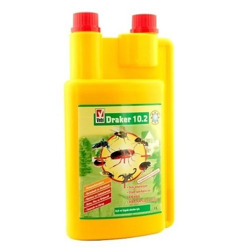 Draker 10.2 Genel Haşere Böcek İlacı 1 Litre