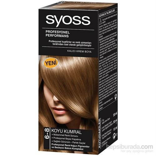 Syoss 6-8 Koyu Kumral Saç Boyası