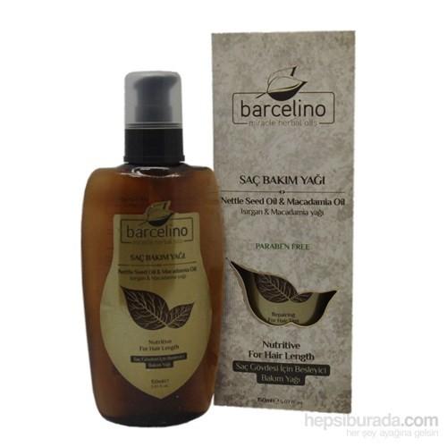 Barcelino Isırgan & Macadamia Saç Bakım Yağı 150 Ml (Paraben İçermez) Yeni