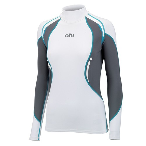 Gill Womens Sport Uv Long Sleeved Rash Bayan Licra