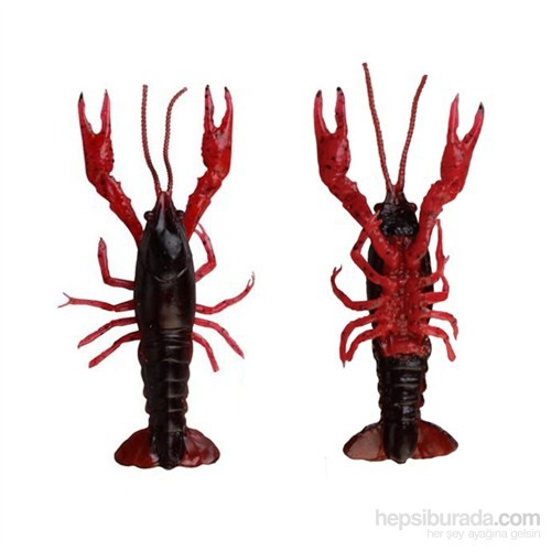 Savagear Crayfish Silikon Yem 8Cm 4Gr Red 4 Adet