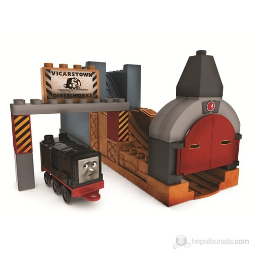 Mega Bloks Thomas Diesel Küçük Kova 17 Parça