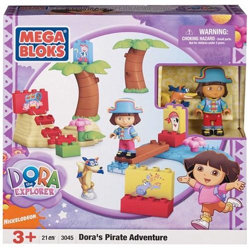 Mega Bloks Dora'nın Korsan Macerası Oyun Seti