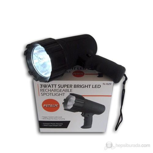 Petrix TL 1029 Spotlight Projektör Tipi El Feneri