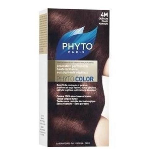 Phytocolor 4M Açık Kahve Kestane